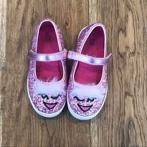 Other - Glitter shoes with hair!